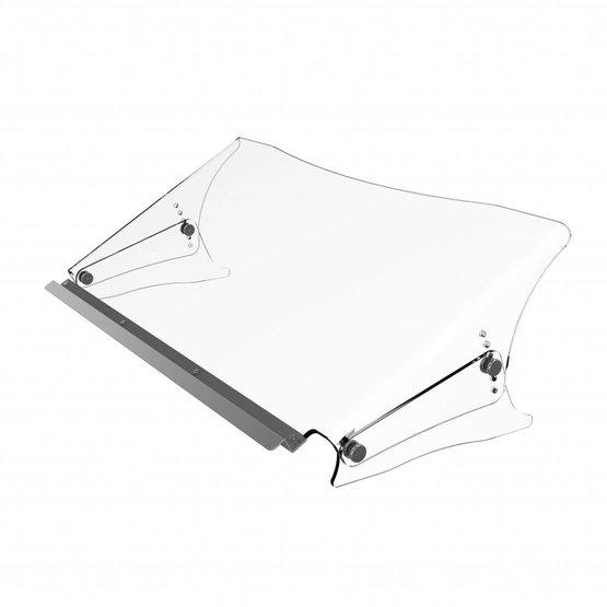 Dataflex Addit ErgoDoc® verstelbare acryl documenthouder met vlakke rand - 49.440