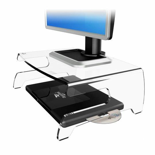 Dataflex Addit Acryl monitorverhoger - 44.660