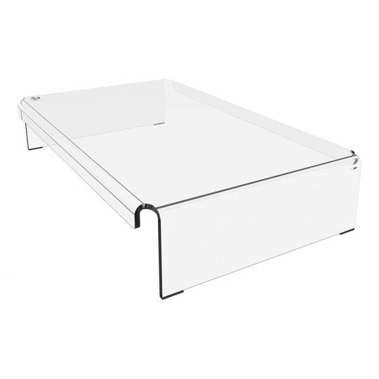 Dataflex Addit Acryl monitorverhoger - 44.900