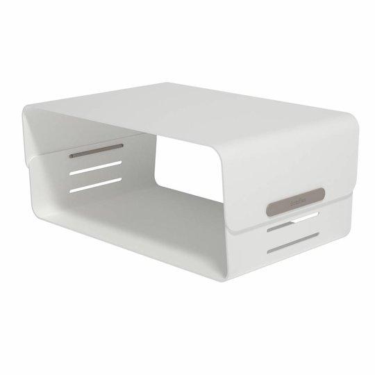 Dataflex Addit Bento® verstelbare monitorverhoger wit