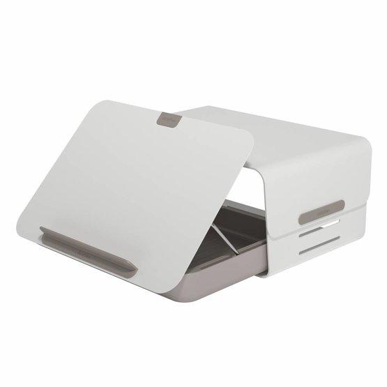 Dataflex Addit Bento® ergonomische bureauset wit