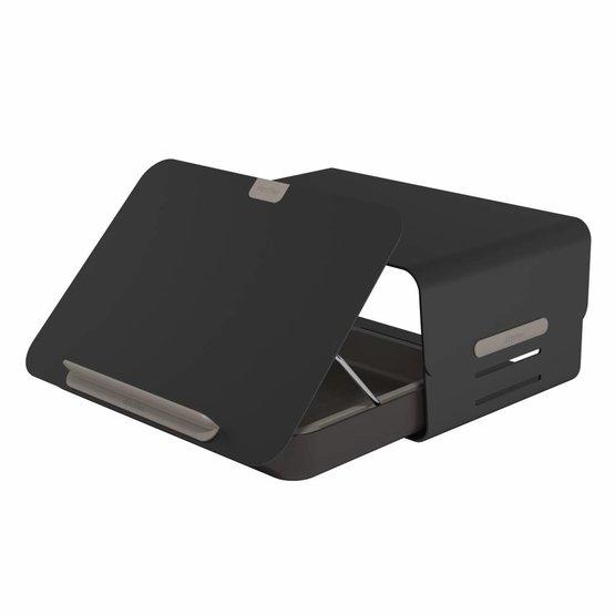 Dataflex Addit Bento® ergonomische bureauset zwart