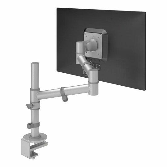 Dataflex Viewgo monitor arm zilvergrijs