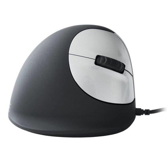 R-Go HE Mouse bedrade rechtshandige ergonomische muis