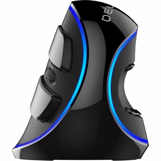 Delux grip mouse Plus SC bedrade rechtshandige ergonomische muis