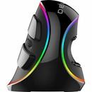 Delux grip mouse Plus RGB bedrade rechtshandige ergonomische muis