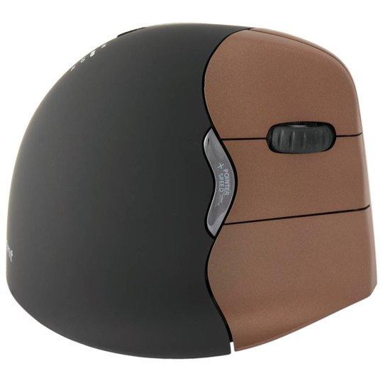 Evoluent VerticalMouse 4 Small rechtshandige draadloze ergonomische muis