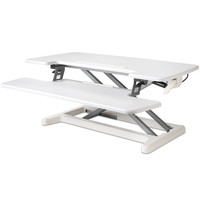 BakkerElkhuizen Adjustable Desk Riser zit-sta werkstation - Wit