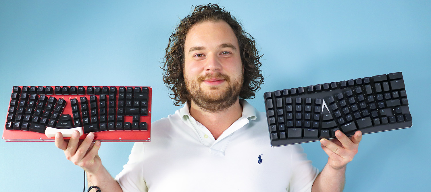 Review X-Bows Ergonomic Mechanical Keyboard