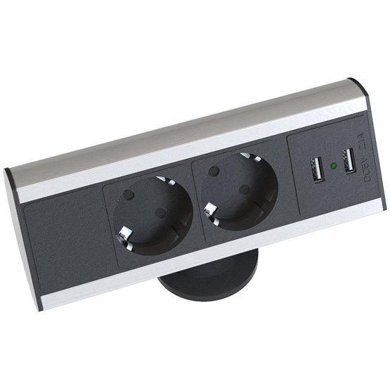Axessline Desk USB Zilver