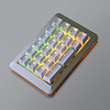 Mistel MD200 RGB zilver/wit (Cherry MX Brown) numeriek toetsenbord