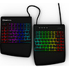 Kinesis Freestyle Edge RGB gesplitst gaming toetsenbord incl. liftkit