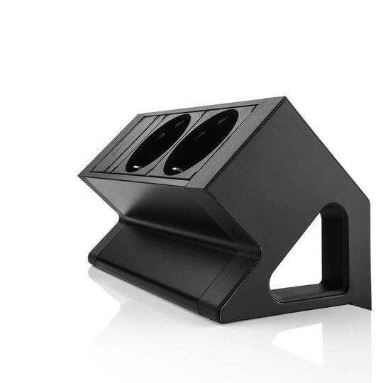 Desk Up 2.0 - 2x 230V - Zwart
