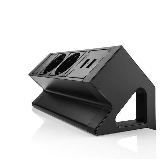 Desk Up 2.0 - 2x 230V, 2x USB charger