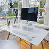 Kensington ErgoSoft™ Polssteun voor plat toetsenbord lichtgrijs