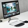 Kensington ErgoSoft™ Polssteun voor plat compact toetsenbord zwart