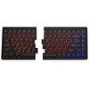 Mistel MD770 RGB gesplitst mechanisch toetsenbord