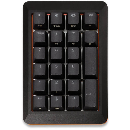 Mistel MD200 RGB zwart (Cherry MX Brown) numeriek toetsenbord