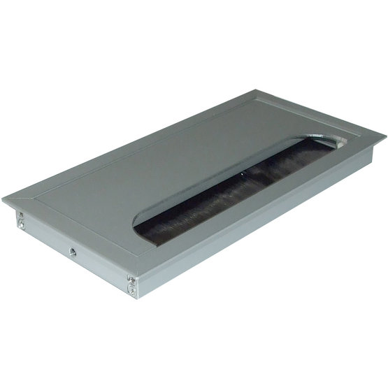 Rectangle XS Aluminium Kabeldoorvoer - 80 x 160 x 13 mm