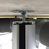Ergopro Aluminium kabelzuil mat zwart gelakt (RAL9005) Ø50 x 3000 mm