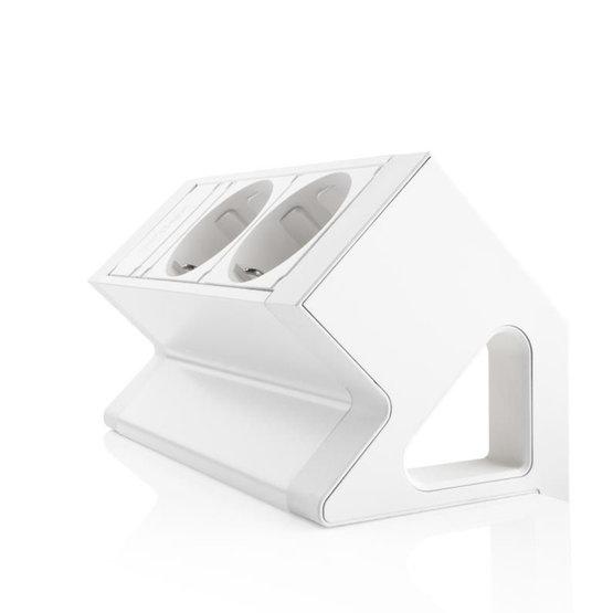 Ergopro Desk Up 2.0 - 2x 230V - Wit