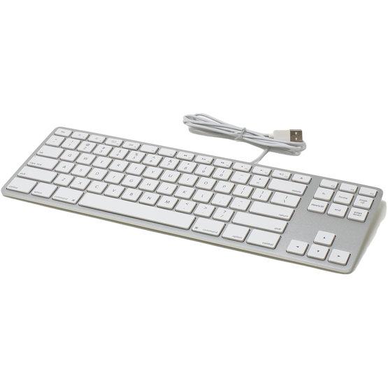 Matias Tenkeyless aluminium zilver toetsenbord voor Mac