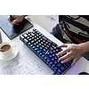 X-Bows Nature Ergonomic Mechanical (Gateron Brown) Toetsenbord