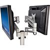 DESQ 1556 Monitor arm voor 2 schermen 10-26''