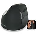 Evoluent VerticalMouse4 Bluetooth rechtshandige ergonomische muis zwart