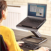 Fellowes Hana Laptopstandaard zwart