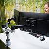 R-Go Zepher C2 dubbele monitorarm