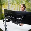 R-Go Zepher C2 Smart Bar monitorarm