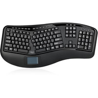 Adesso Tru-Form 4500 gesplitst draadloos toetsenbord