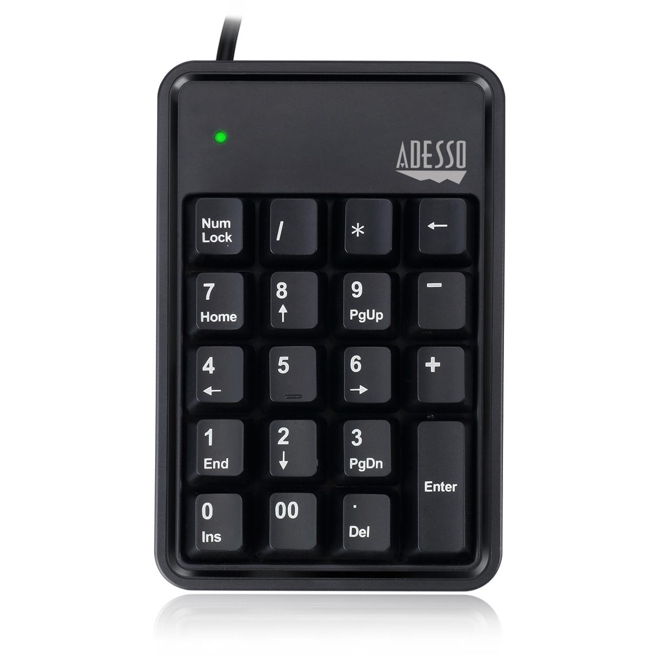 Adesso Easytouch 600 numeriek toetsenbord met USB hub