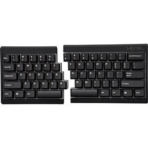 Mistel MD600 Barocco Black (Cherry MX Brown) gesplitst toetsenbord