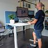 ROL Ergo Art 55° zit/sta bureau 70-120 cm incl. gratis montage
