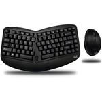 Adesso Tru-Form 1150 draadloos gesplitst toetsenbord en muis combinatie