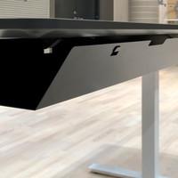 Ergopro Flexible Kabelgoot wit | zilver | zwart