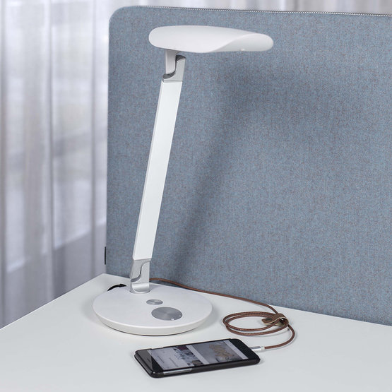 Götessons Funkia LED bureaulamp wit