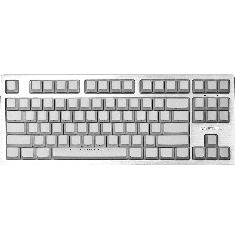 Mistel MD870 Sleeker LED Alu. (Cherry MX Brown) toetsenbord