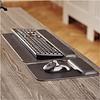 Fellowes Hana™ lederen toetsenbord polssteun zwart
