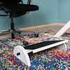 WEDO Relax-steel DIN4556 voetensteun grijs