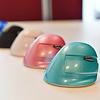 Delux Mini Mint Green draadloze rechtshandige ergonomische muis