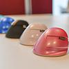 Delux Mini Pink draadloze rechtshandige ergonomische muis