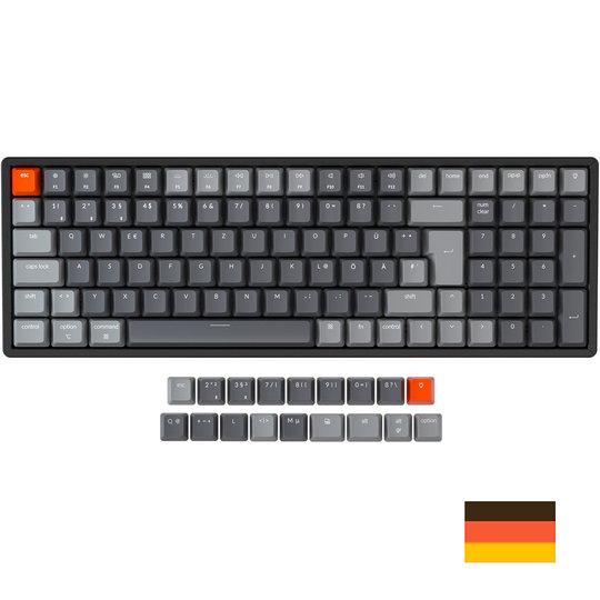 Keychron K4 mechanisch toetsenbord voor Windows & Mac QWERTZ DE