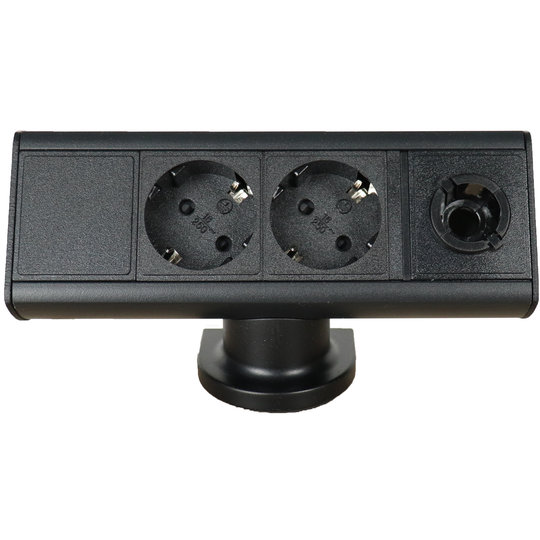 Axessline Desk - 2x power + Magic Hole