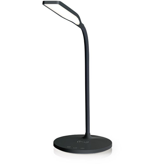 Nedis dimbare LED bureaulamp met Qi oplader