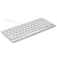 R-Go Ergo Compact wit ergonomisch toetsenbord Azerty BE
