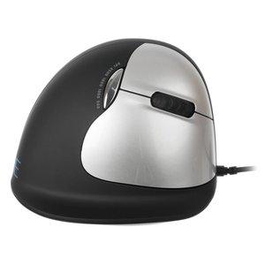 R-Go HE Mouse Large bedrade rechtshandige ergonomische muis