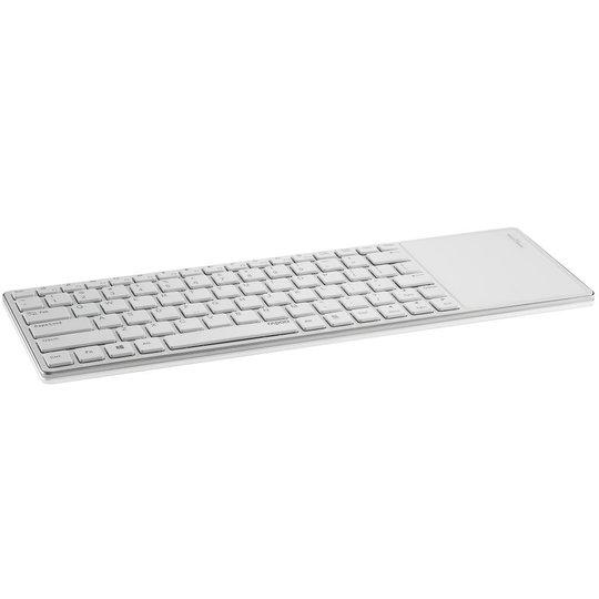 Rapoo E6700 wit bluetooth toetsenbord met touchpad